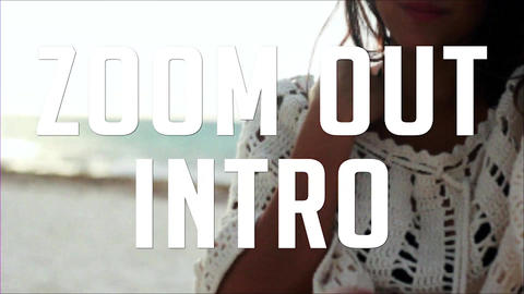 ZOOM OUT INTRO After Effects Template