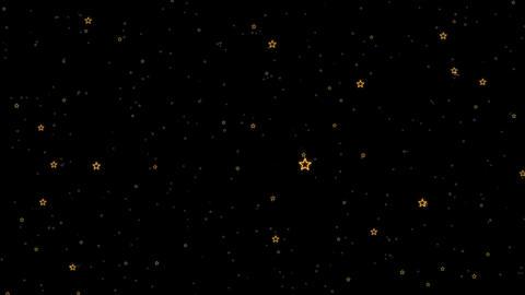 Stars Travel Animated Background Animation