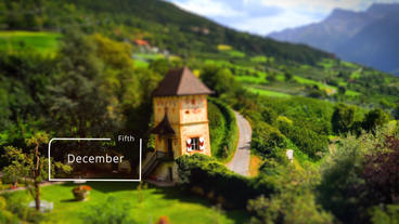 Tilt&Shift Photo Slider V1.0 After Effects Templates