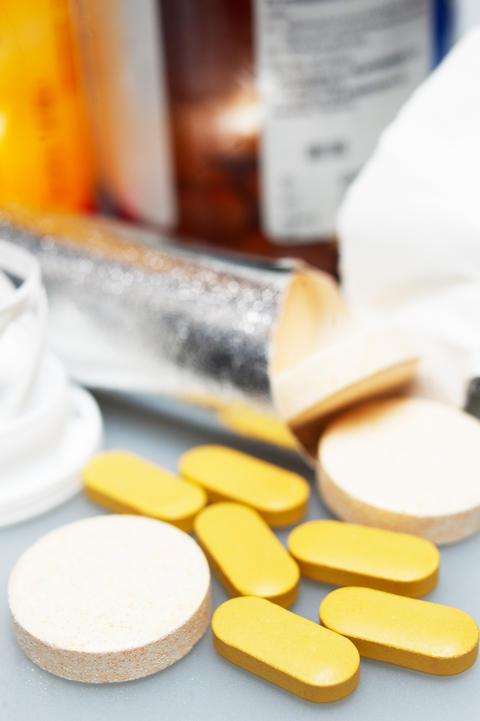 vitamin pills Photo