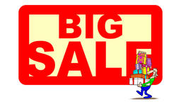 BIG SALE BANNER and CONSUMER Animation