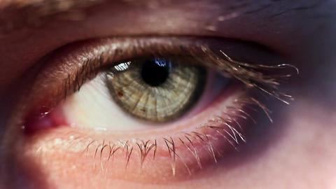 Eye Iris 3 Footage