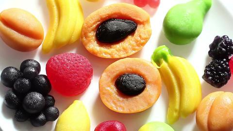 Rotation Fruit Marmalade Footage