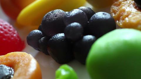 Rotation Fruit Marmalade 3 Footage