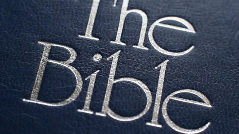 The Book Is The Bible 3 Footage