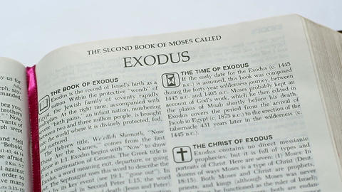 The Book Of Exodus Footage
