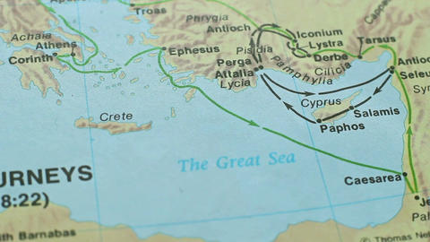 Map Time Of Jesus Christ 4 Footage