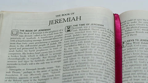 The Book Of Jeremiah Live Action