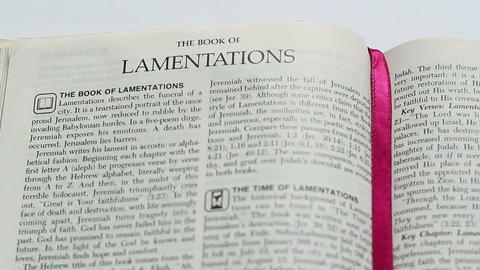 The Book Of Lamentations Footage