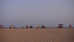 Beach stalls on beach,Mahabalipuram,India Footage