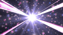Motion violet background light stars and particles Animation