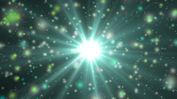 Motion neon background light stars and particles Animation