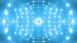 VJ Fractal blue kaleidoscopic background Animation