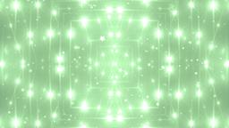 VJ Fractal green kaleidoscopic background Animation