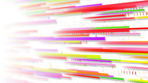 Colorful lines loopable animation selective focus Animation