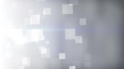 Squares bokeh lights abstract background seamless loop Animation