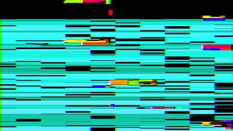 Glitch Effect Bad TV Animation