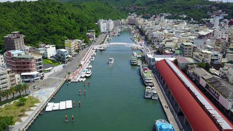 DJI MAVIC 4K Taiwan Kaohsiung Cijin Gushan Xiziwan Kaohsiung Harbor Weiwuying 20 Footage