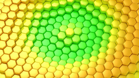 Background From Animated Hexagons Animation