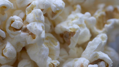 Macro spin of popcorn bowl