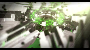3D Sci Fi Logo ME(Green) After Effects Project