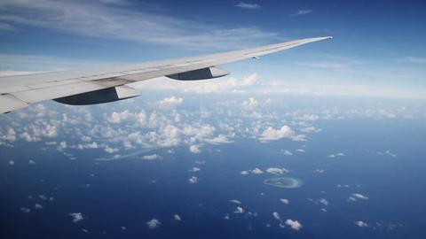 Maldives islands aerial Footage