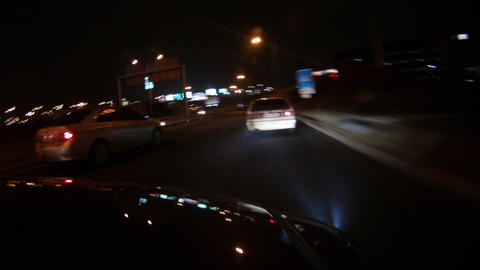 Night car trip Live Action