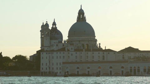 Venetian blessed holy place for praying and worshiping god, religious site Footage