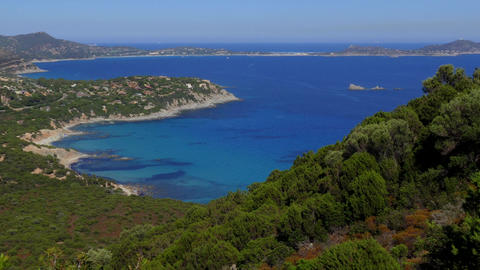 Natural Landscape Beaches Mediterranean Sea In Sardinia Sardegna Italy Italia Footage