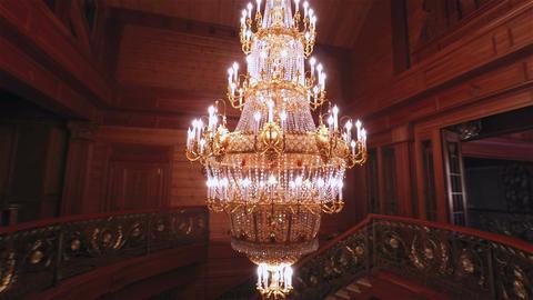 Luxury Crystals Chandelier Filmmaterial