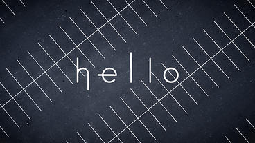 Animated Font Dot to letter After Effects Projekt
