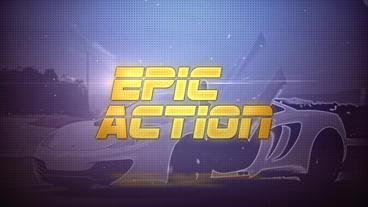 Epic Action - Apple Motion and Final Cut Pro X Template Plantilla de Apple Motion