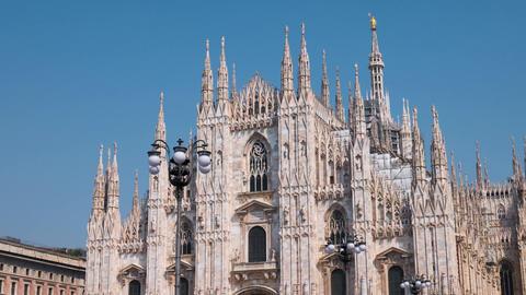 Milan Duomo Cathedral, Hyperlapse Footage