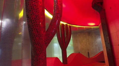 Cactusi Interior Decoration Of Spa Centre Live Action
