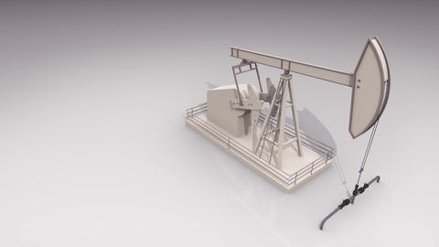 oil pump working Animation