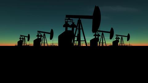 black industrial pumps Animation
