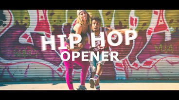 Hip Hop Opener After Effects Templates
