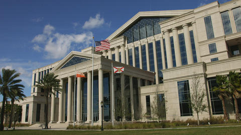 Duval County Courthouse in Jacksonville, Florida Footage