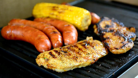 BBQ grilling Image