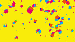 9 Colored Boxes Background 0