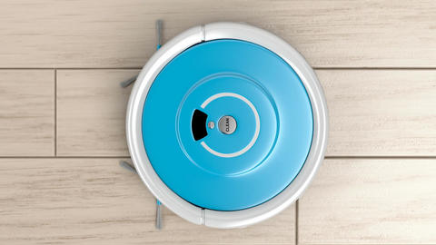 Robotic vacuum cleaner Animation