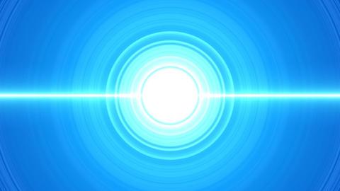 Circle blue CG動画