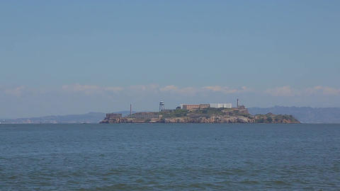 Viewpoint of Alcatraz Prison Footage