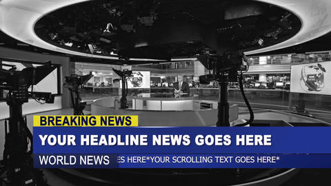 News lower third package After Effects Template