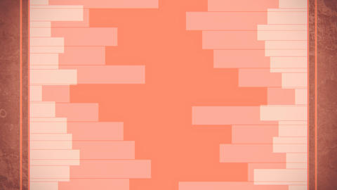 Geometrical horizontal lines random level animation Animation