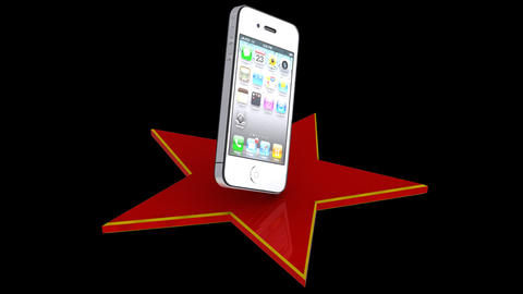 IPhone over star Animation