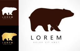 Bear logo Vektor