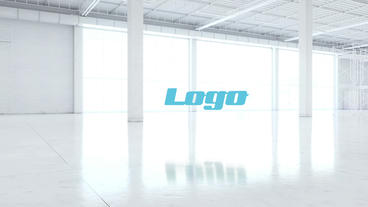 Corporate White Room Logo After Effects Template