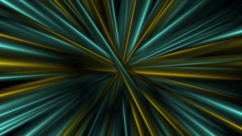 Colorful glowing abstract smooth beams video animation Animation