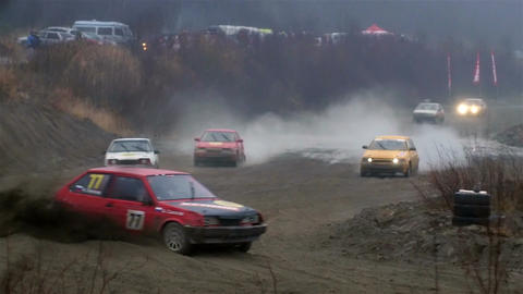 Off-road race Footage
